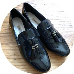 NWOT Zara Patent Leather Loafers